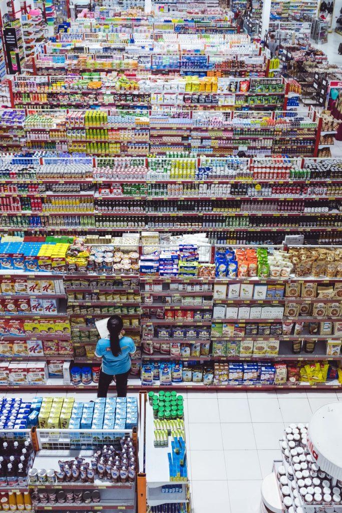 Kontrola sanepidu w sklepie